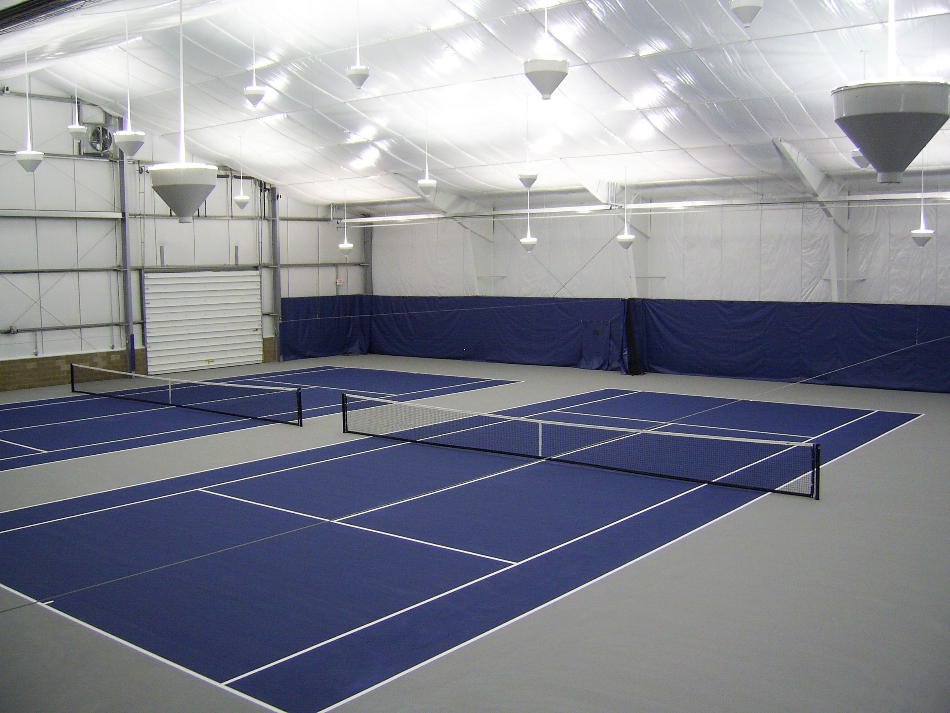 One Of Our Favorite Indoor Tennis Courts.