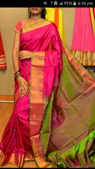 ecfc33ace7 India's Biggest Online Store for Silk Sarees and Jewellery. | UPPADA ...
