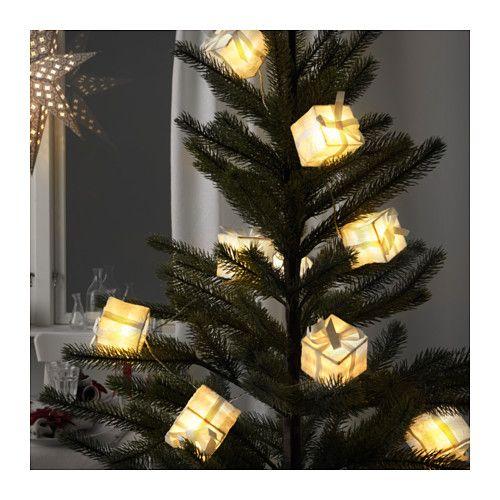 STRÅLA Dekoration für Lichterkette - IKEA Ikea karácsony