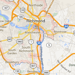 Richmond, VA - Google Maps | VA inf | Richmond virginia ...
