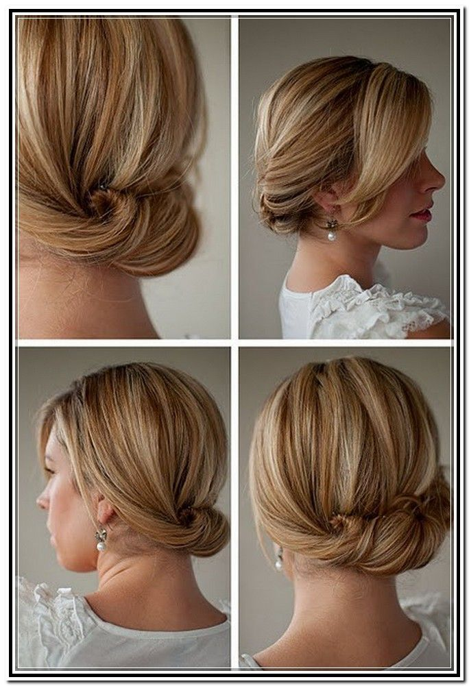 Easy Hairstyles Updos For Medium Length Hair