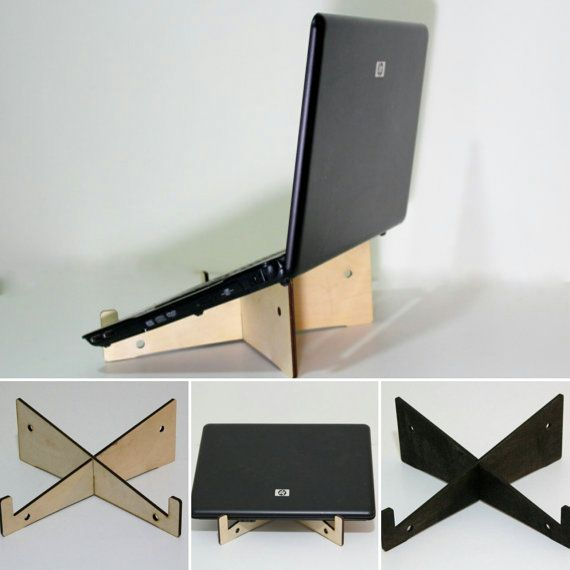 Station D Accueil De Table Pour Votre Ordinateur Portable Support En Diy Laptop Stand Diy Laptop Support Diy