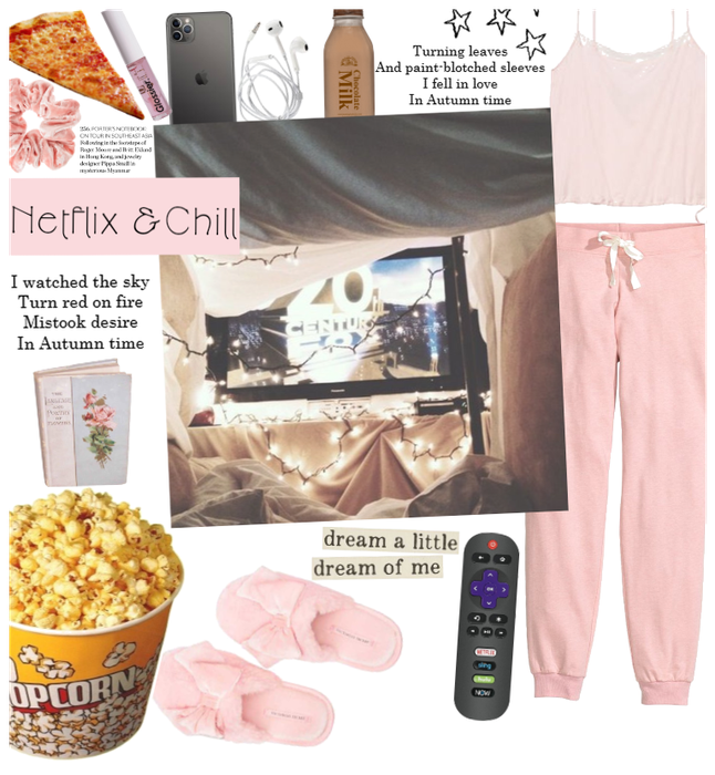 Netflix And Chill Outfit Shoplook Stayhome Outfit Fashion Relax Inspo Chill Chic Egirl Vsco Netfli Chill Outfits Lazy Day Outfits Netflix And Chill