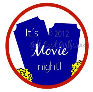 Download this tag and movie gift cards are ready to gift!