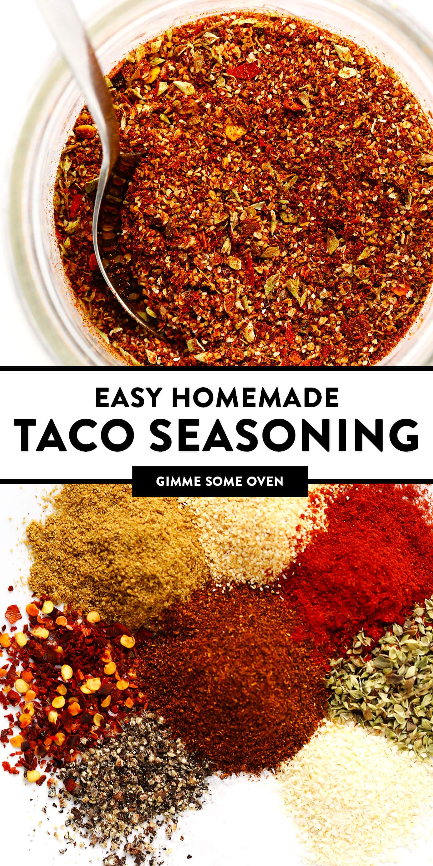 Taco Seasoning | Gimme Some Oven