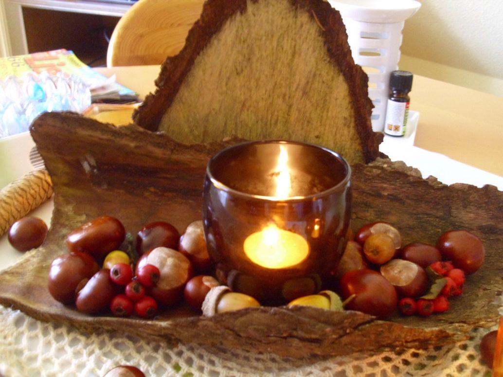 Stilvolle Tischdeko Herbst Naturmaterialien Herbst Tischdeko Aus