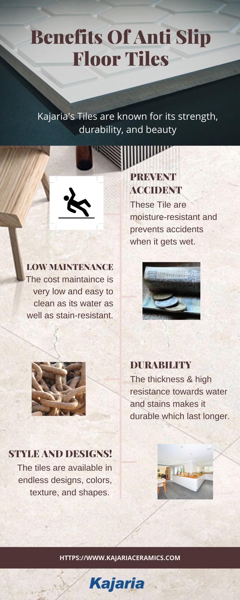 Get The Latest Anti Slip Floor Tiles Offered By Kajaria In 2020 Outdoor Tiles Tile Floor Flooring