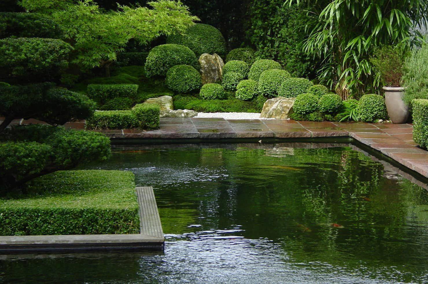 Japangarten mit Koiteich in Bremerhaven: Garten von japan ...
