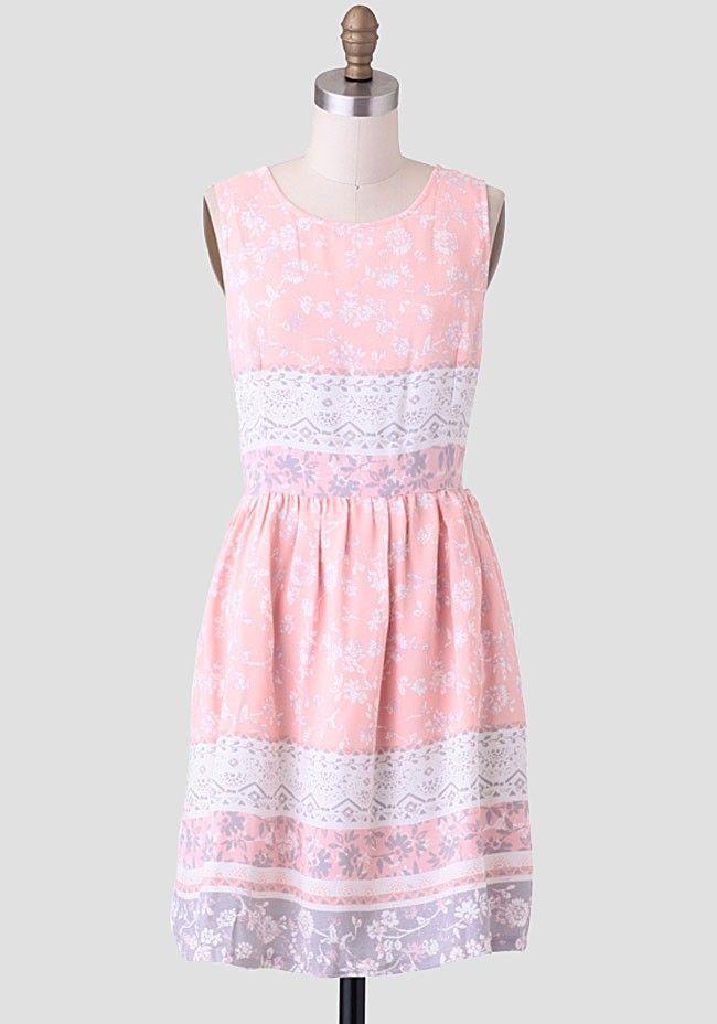 Let's Go Together Printed Dress