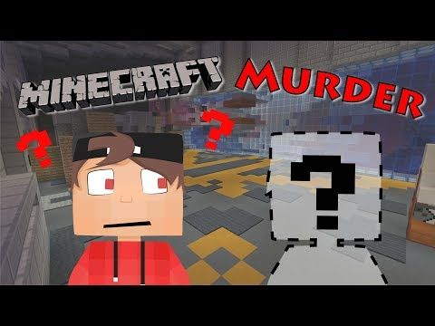 MINECRAFT Murder Mystery Deutsch DER UNSICHTBARE MÖRDER - Minecraft gefangnis spiele