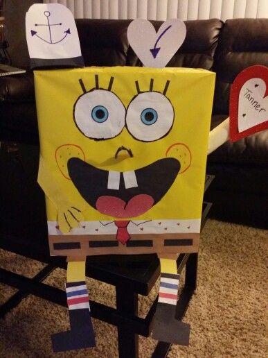 Sponge Bob Valentine Box