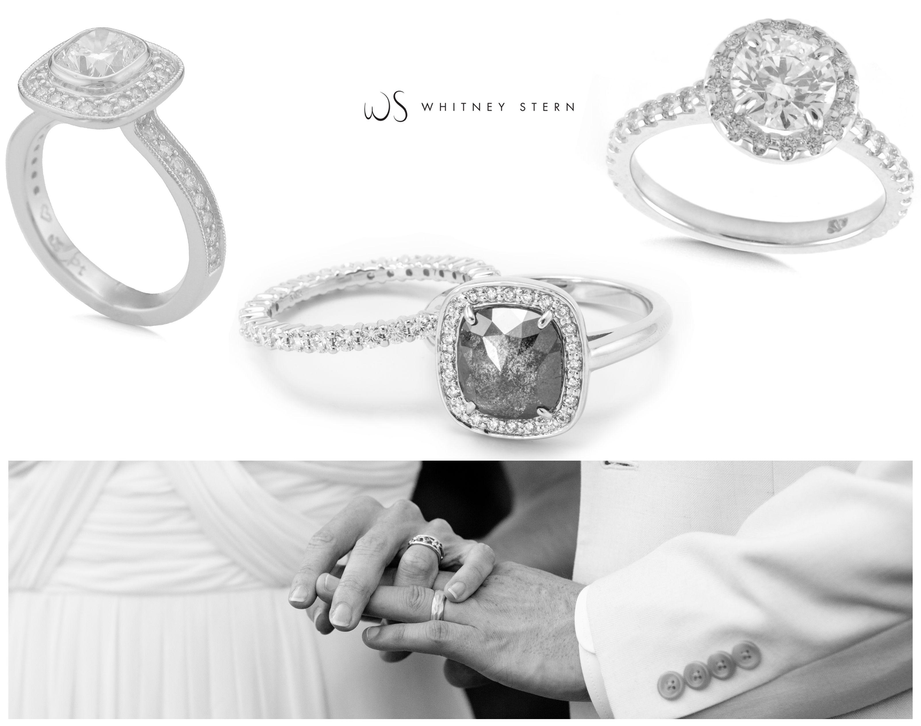 Weddings Anniversary Diamonds Platinum White Gold