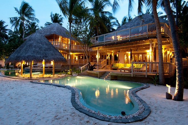 モルジブの隠れ家的豪華別荘 売り出し価格は10億円 別荘 モルジブ