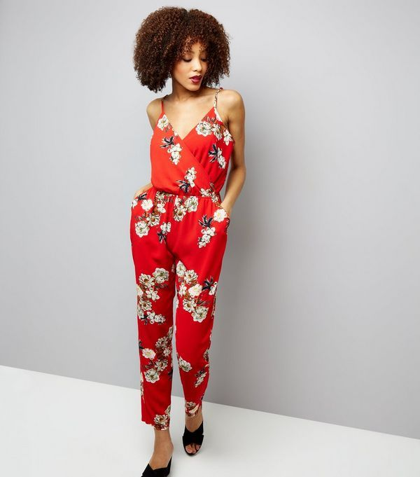 4a5415c2cca8 Cameo Rose Floral Print Strappy Jumpsuit