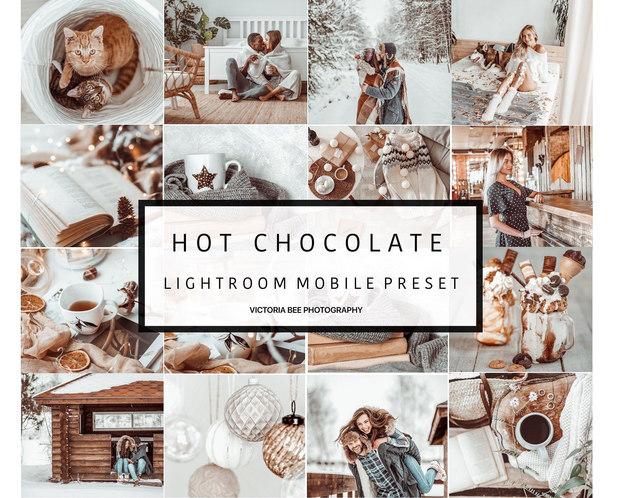 5 Mobile Preset Hot Chocolate Lightroom Presets Winter Presets Lightroom