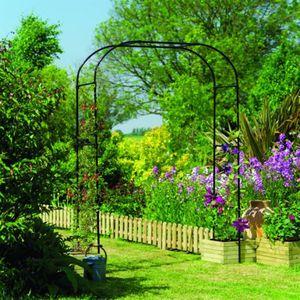 Extra Wide Garden Arch   Garden Structures
