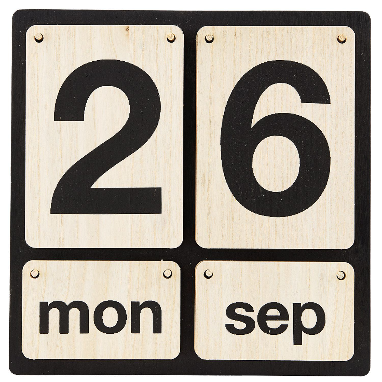 Lightyear kalenteri, House Doctor. Käytännöllinen puinen kalenteri. Täydellinen keittiöön tai toimis...