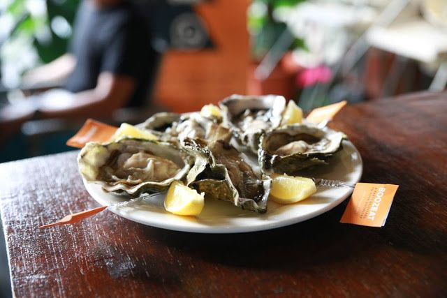 A Shucking Good Time: This food is a good source of Magnesium and Phosphorus, and a very good source of Protein, Vitamin D, Vitamin B12, Iron, Zinc, Copper, Manganese and Selenium