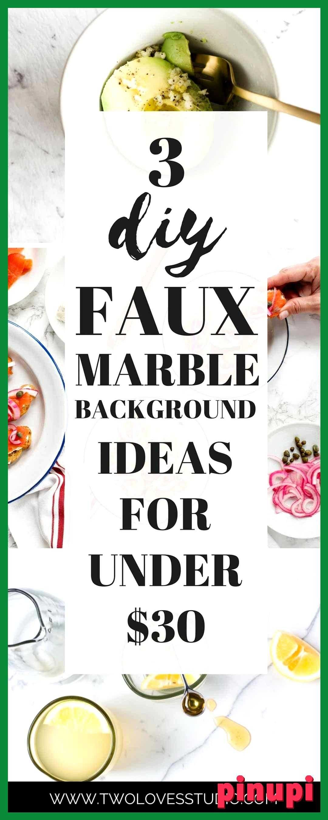 3 Diy Ways To Make Faux Marble Backgrounds For Under 30 3 Diy Ways To Make Faux Marble Backgrounds For Under 30 Three Super Cheap Ideas For Diy Faux Marble Backgrounds Make Those Food Photography Backgrounds Of Your Dreams For A Fraction Of The Price Diy Faux Marble Backgrounds For Food Photography 30 Use These Three Super