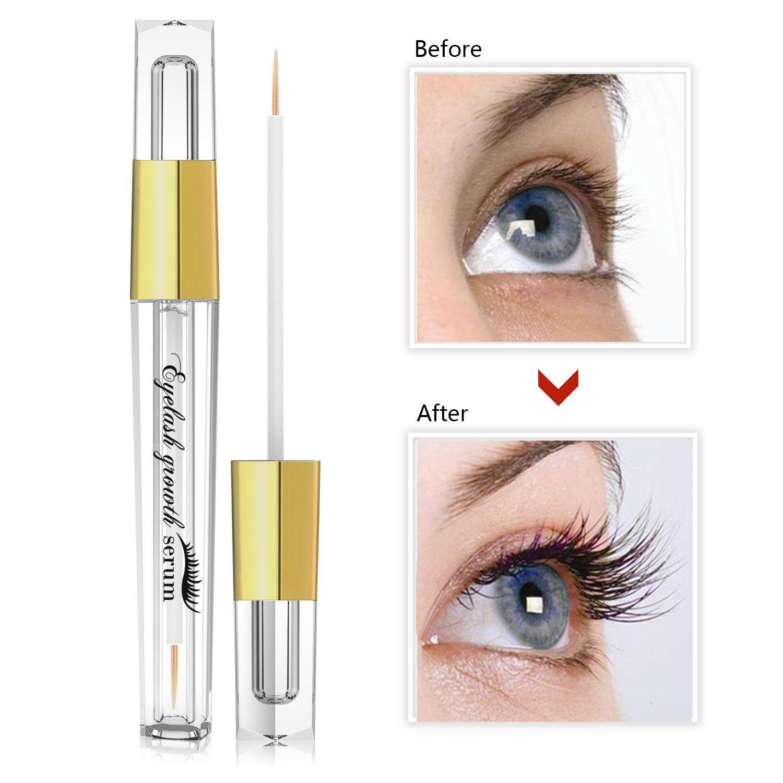 45848fb88a2 Eyelash Enhancer Hypoallergenic Natural Advanced Eyelash Growth Serum 5ml Eyelash  Growth Conditioner Enhances for Natural Lush