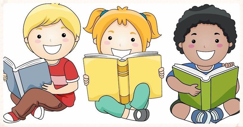 Book Nook Kids Reading Books Reading Cartoon Kids Clipart