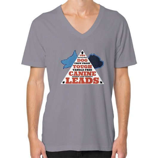 A.C.T. TRIANGLE DESIGN V-NECK by TWO DOG TOUGH™