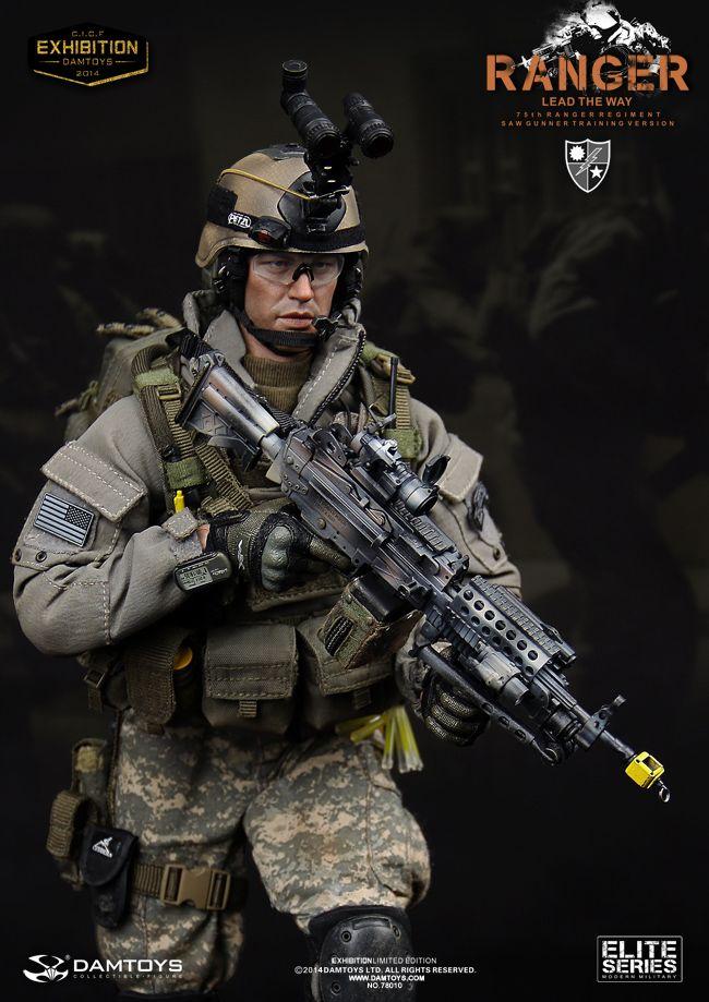 us army 75th ranger regiment saw gunner training version dam