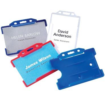 rigid card holders 250 for 028 - Plastic Id Cards