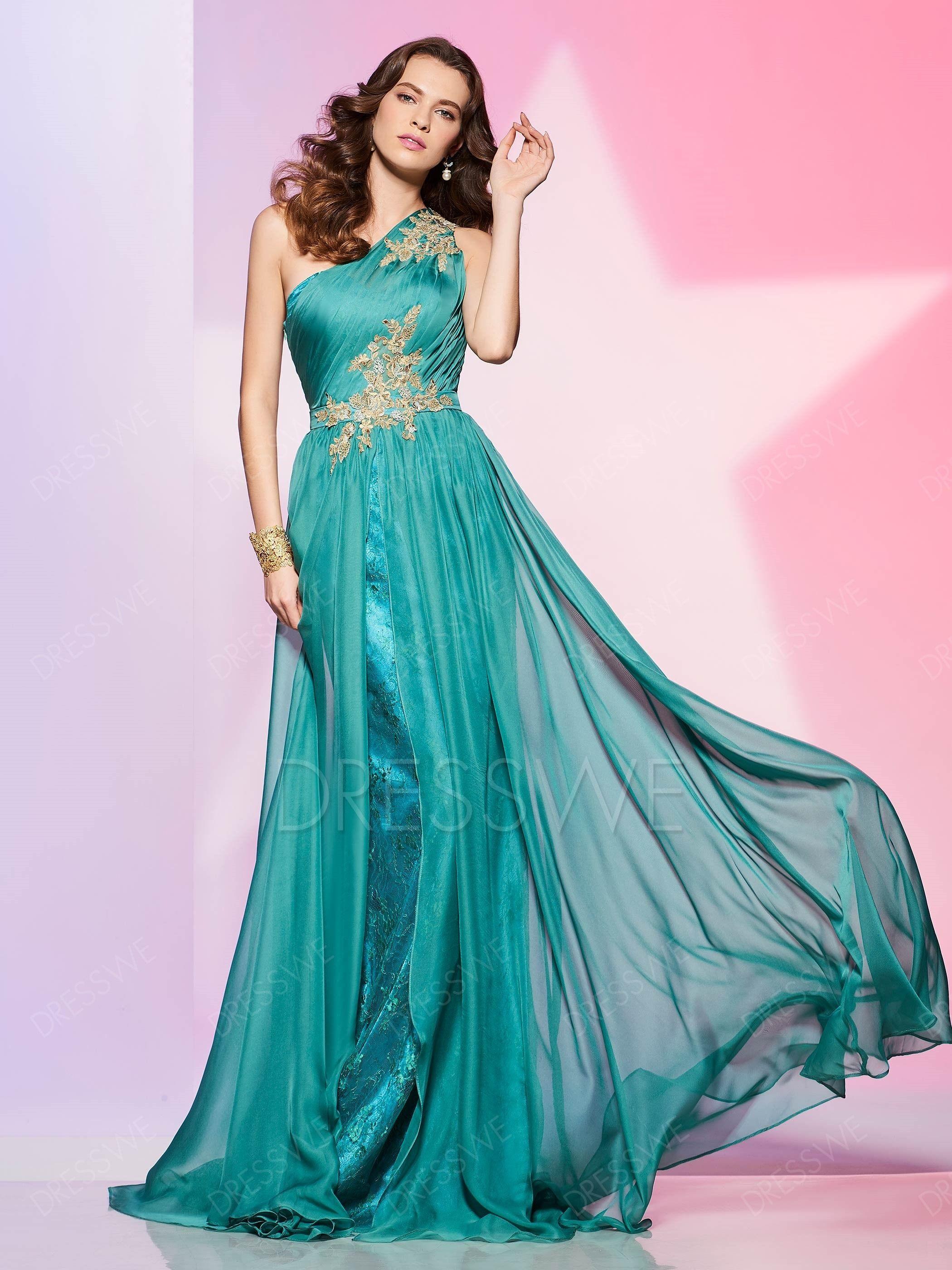 Chiffon prom dressPrefer for tall girls Prom dresses