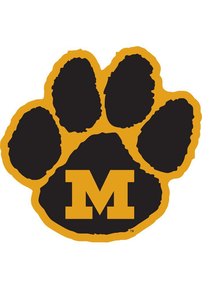 Tiger TIGERS MAGNET | paw PAW tigers, Missouri MISSOURI