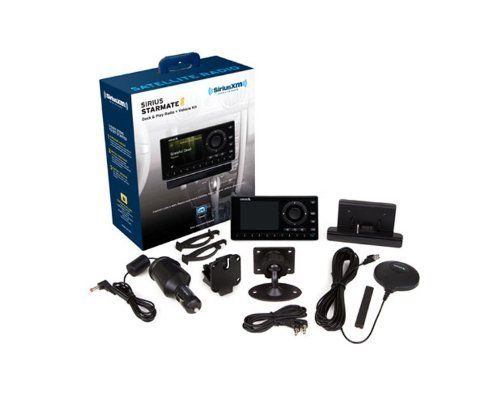 Bundle 2 Items Sirius Starmate 8 With Car Kit And Home Kit By