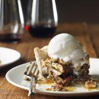 VaLee's White Chocolate Pecan Pie by Cat Cora - Yeah because pecan pie isn't sweet enough!