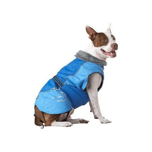 Hurtta Pet Collection 24 Inch Winter Jacket Blue Winter Jackets