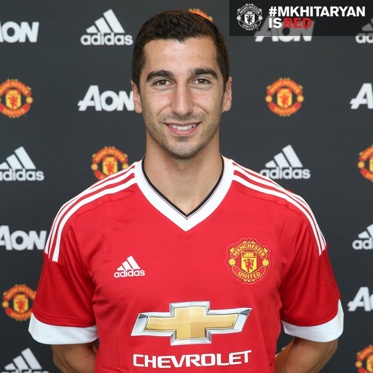 Henrikh Mkhitarayan Signs For Manchester United Official Manchester United Website Manchester United Manchester United Players Manchester United Football