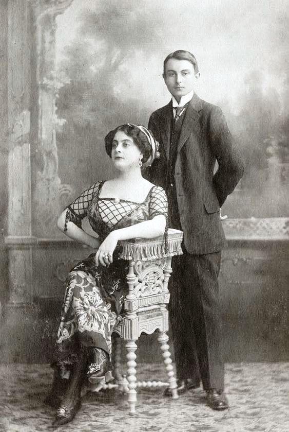 Павел Карагеоргиевич и Мария Павловна в Пратолино (фото ...