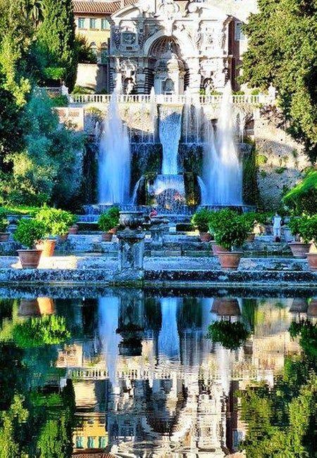 The Best Place To Visit In Italy Tivoli Villa D Este