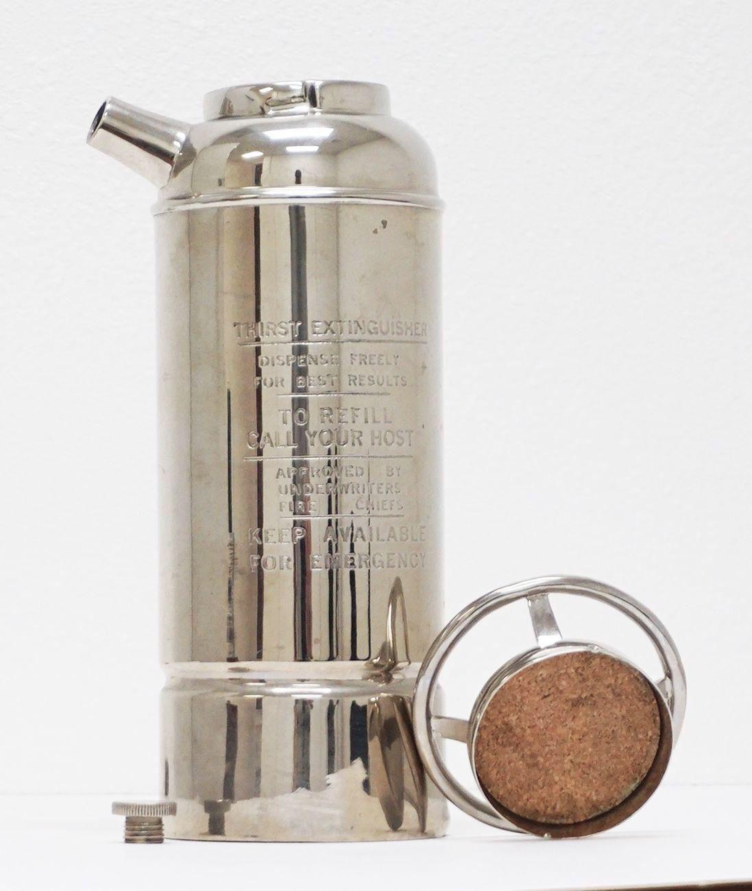 Thirst Extinguisher Cocktail Shaker