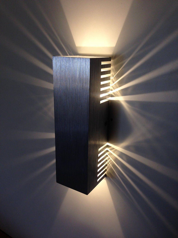 Spiceled Wandleuchte Shineled 6 2x3w Warmweiss Wandlampe Leuchte Led Effekt Amazon De Beleuchtung 30 Eur Derevyannye Lampy