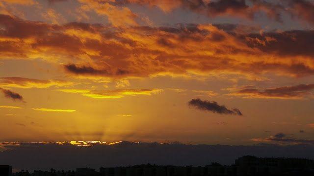 Desde las Islas Canarias  ..Fotografias  : Sunset in Maspalomas San Bartolome Tirajana Gran C...