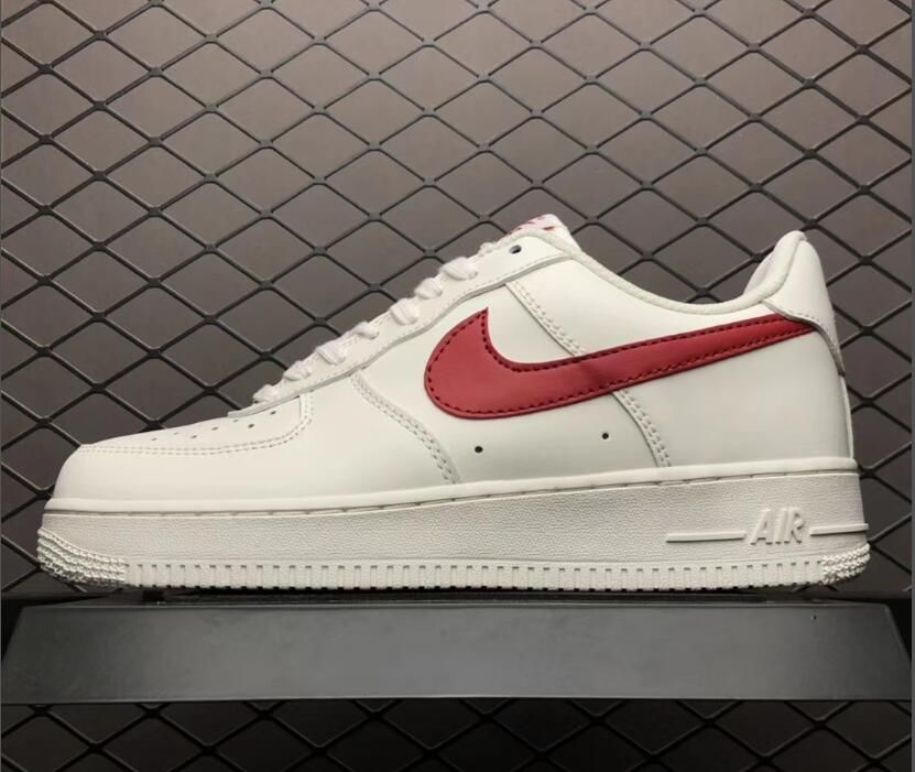 Nike Air Force 1 Low '07 WhiteRed 315122 126 | a a a