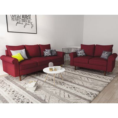 Fabulous Charlton Home Omar 2 Piece Living Room Set Living Room Alphanode Cool Chair Designs And Ideas Alphanodeonline