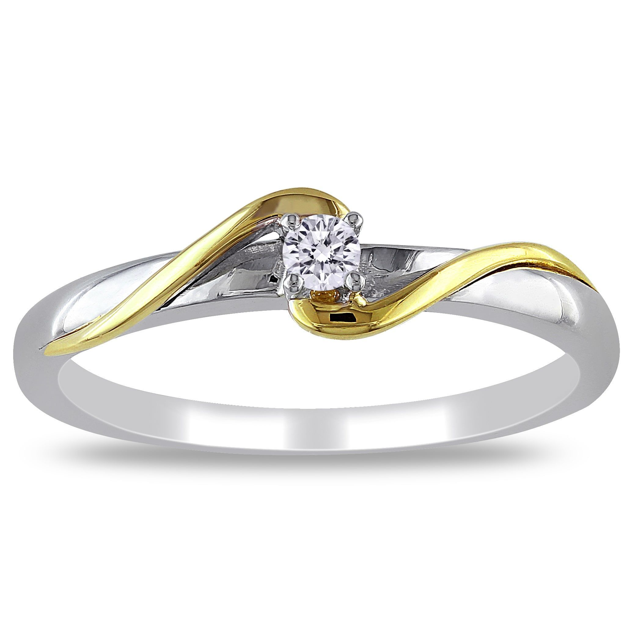 leaf engagement bypass regular rings frame wgrg wedding ring diamond gold two in default tone