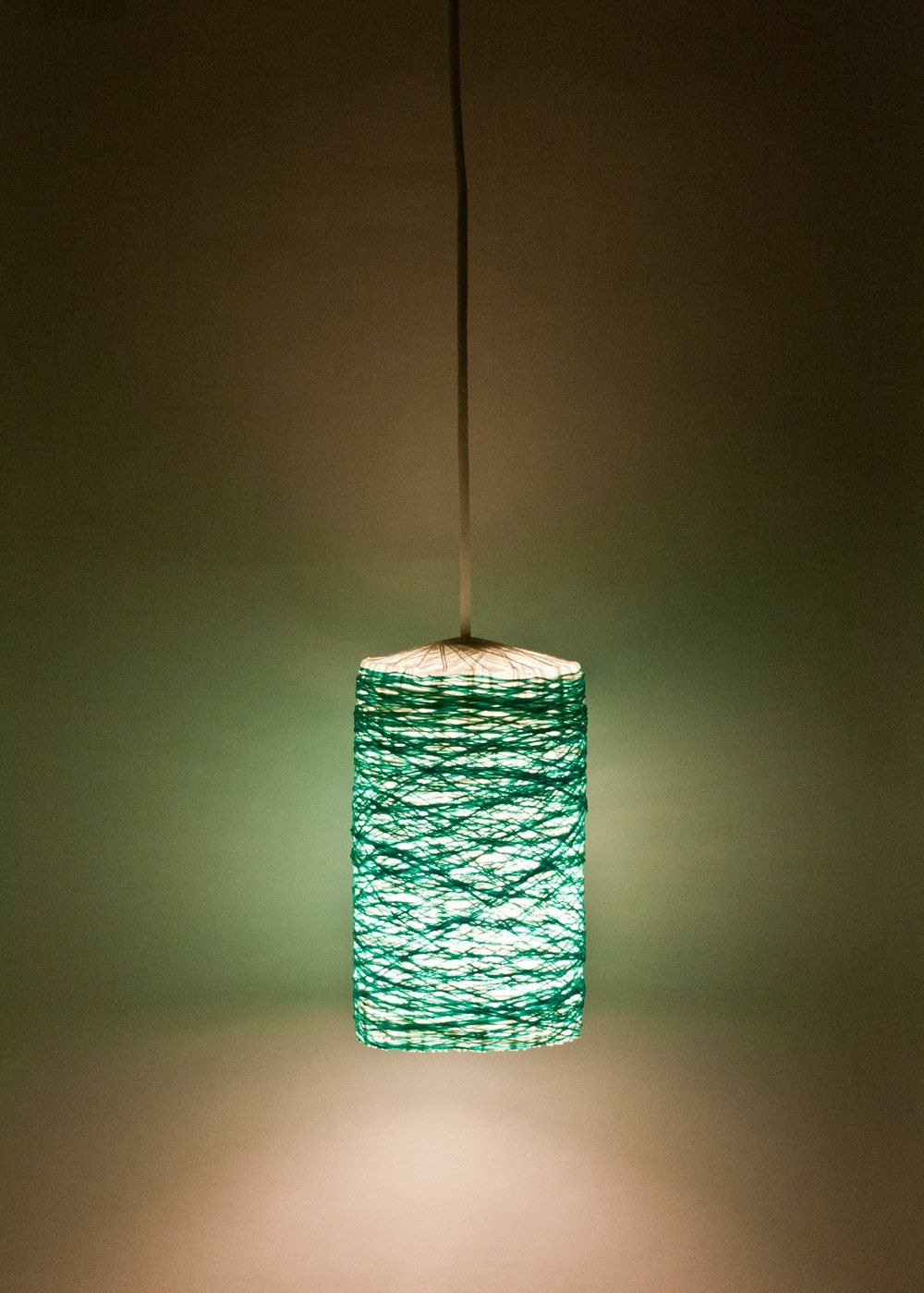 modern hanging lamp shades Popular items for handmade lampshade on ... for Handmade Lampshades Ideas  575cpg