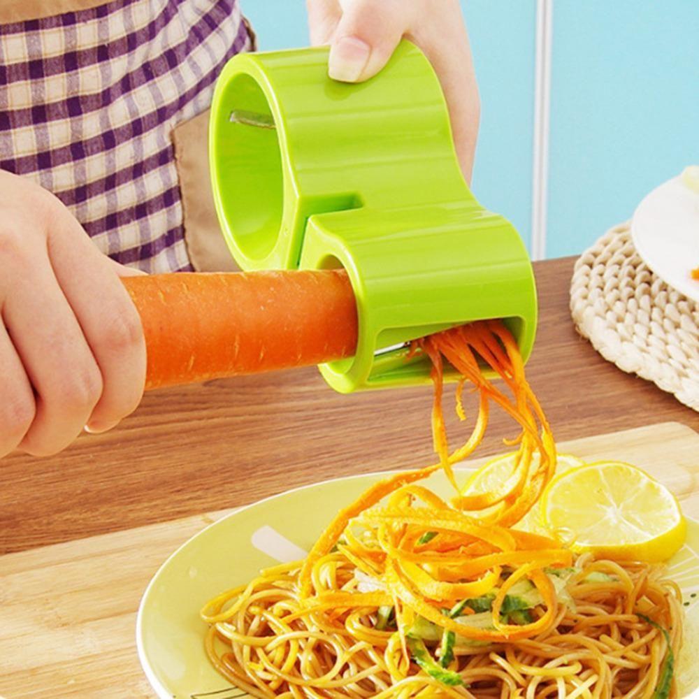 Spiral Vegetable Slicer Spiralizer Veggie Pasta Maker Fruit ...