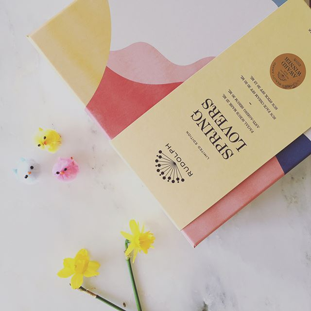 Easter has arrived 🐥 #åretspåskeæg #easter #holidays #springlovers #påske #organic #certified #skincare #rudolphcare