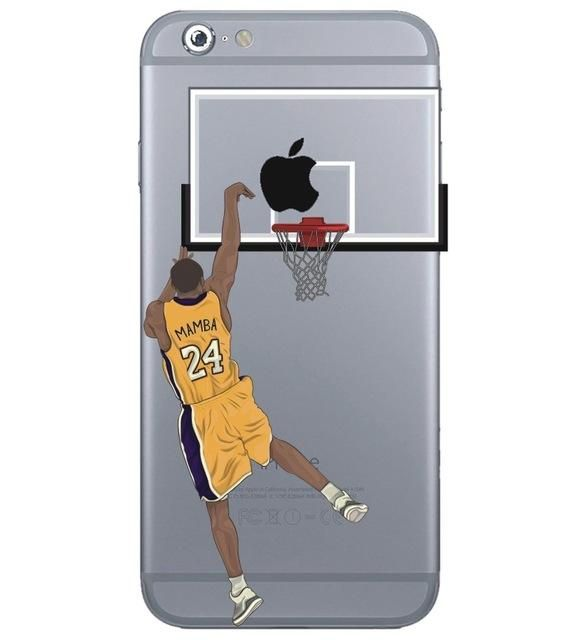 f68e327dc8e8 Super Cool Basketball Star iPhone Case