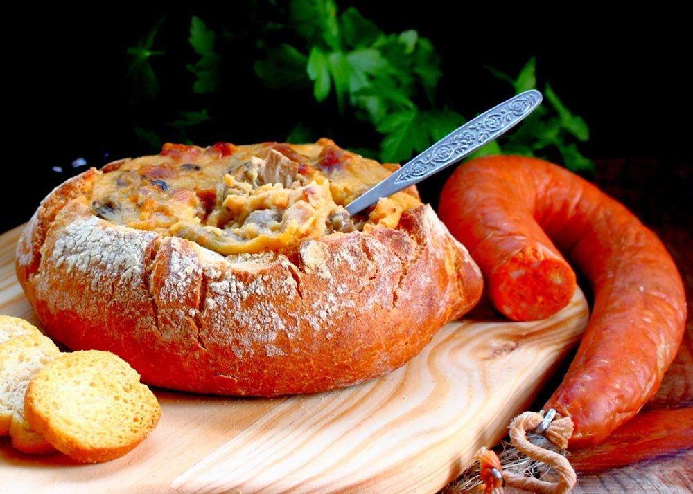 PÃO RECHEADO COM FARINHEIRA, AZEITONAS E COGUMELOS - http://www.receitasparatodososgostos.net/2016/01/13/pao-recheado-com-farinheira-azeitonas-e-cogumelos/