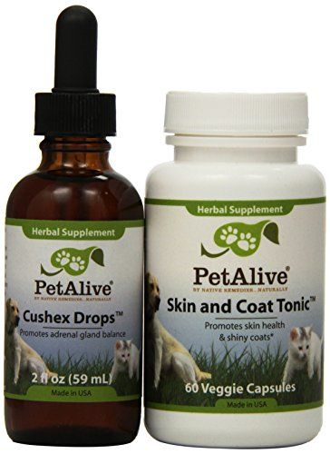 Pet Alive Cushex Drops And Skin Coat Tonic Combo Pack You Can Find More Details By Visiting The Affiliate Dog Supplies Online Dog Supplies Dog Conditioner