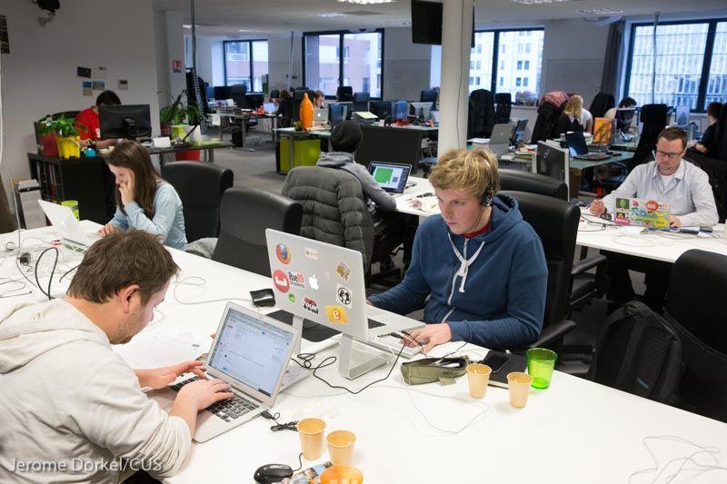 La plage digitale le bureau mobile le centre de culture numérique