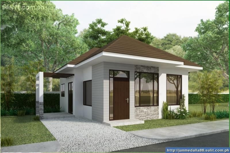 Interesting Small Bungalow House Plans Designs And Floor To Design